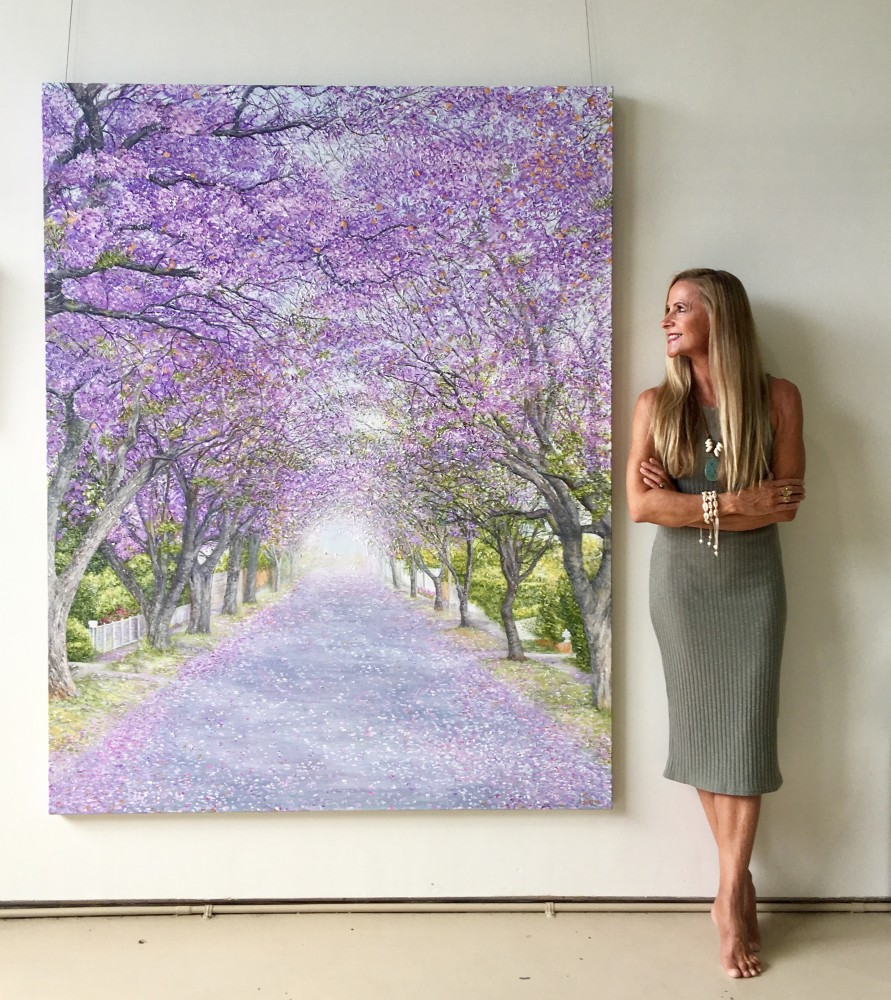 Through the Jacarandas by Julia Carter