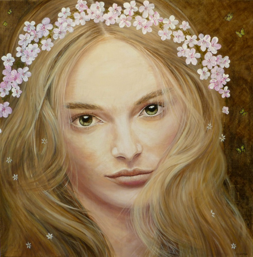 Spring Goddess by Julia Carter