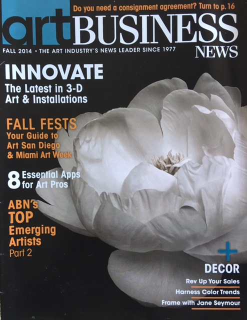 Art Business News Autumn 2014 Coverage