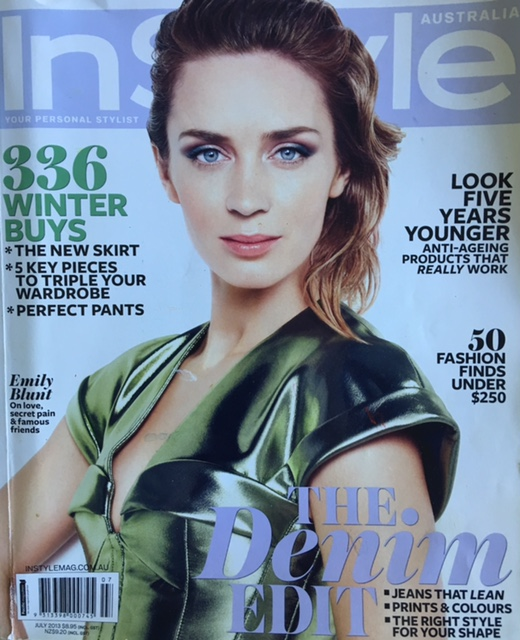 InStyle July 2013 Coverage